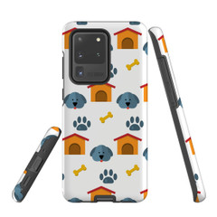 For Samsung Galaxy S10 5G Protective Case, Dog Pattern | iCoverLover Australia