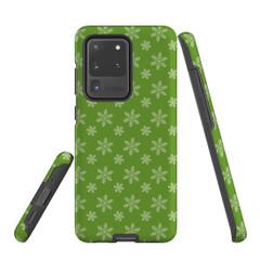 For Samsung Galaxy S10 5G Protective Case, Snowflake Pattern | iCoverLover Australia