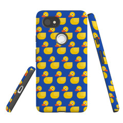For Google Pixel 2 Protective Case, Yellow Duckies Pattern | iCoverLover Australia