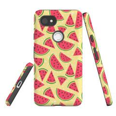 For Google Pixel 2 Protective Case, Watermelon Pattern   iCoverLover Australia