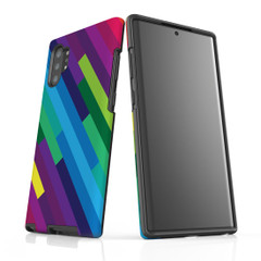 For Samsung Galaxy Note 10 Plus Protective Case, Rainbow Pattern | iCoverLover Australia