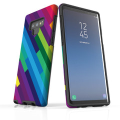 For Samsung Galaxy Note 10 Plus Protective Case, Rainbow Pattern   iCoverLover Australia