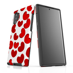 For Samsung Galaxy Note 10 Plus Protective Case, Heart Pattern | iCoverLover Australia