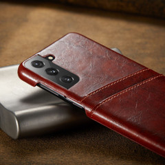 Samsung Galaxy S20/20+ Plus/20 Ultra Case Deluxe Leather Protective Cover Brown | iCoverLover Australia