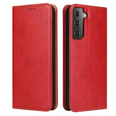 Samsung Galaxy S20/20+ Plus/20 Ultra Case Leather Flip Wallet Folio Cover Red | iCoverLover Australia