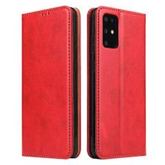 Samsung Galaxy S21 Ultra/S21+ Plus/S21/S20/20+/S20 Ultra Case Leather Flip Wallet Folio Cover Red   iCoverLover Australia