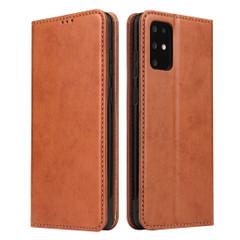Samsung Galaxy S20/20+ Plus/20 Ultra Case Leather Flip Wallet Folio Cover Brown | iCoverLover Australia