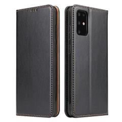 Samsung Galaxy S20/20+ Plus/20 Ultra Case Leather Flip Wallet Folio Cover Black | iCoverLover Australia