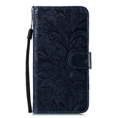 Samsung Galaxy S20 Case, Floral Lace Pattern PU Leather Wallet Cover | iCoverLover Australia