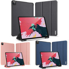 iPad Pro 12.9in (2020) Case, PU Leather Cover with 3-Fold Stand, Sleep/Wake Function, Pen Slot | iCoverLover Australia