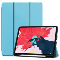 iPad Pro 11in (2020) Case, PU Leather Cover, 3-Fold Stand, Sleep/Wake Function, Pen Slot | iCoverLover Australia