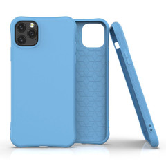 iPhone 11, 11 Pro & 11 Pro Max Case, Solid Slim Protective Cover, Blue | iCoverLover Australia