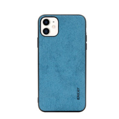 iPhone 11, 11 Pro & 11 Pro Max Case, Fabric Texture Soft Slim Protective Fashionable Cover, Blue | iCoverLover Australia