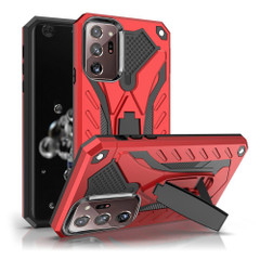 Samsung Galaxy Note 20, Note 20 Ultra Case, Armour Shockproof Tough Cover with Kickstand, Red