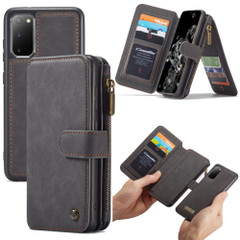 For Samsung Galaxy S20 Case, Wild Horse Texture PU Leather Detachable Folio Cover | iCoverLover Australia