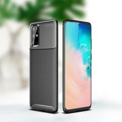 Samsung Galaxy Note 20 Ultra Case, Carbon Fibre Texture Protective Slim Back Cover   iCoverLover Australia