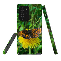For Samsung Galaxy Note 20 Ultra/Note 20 Case, Tough Protective Back Cover, butterfly showing off | iCoverLover Australia