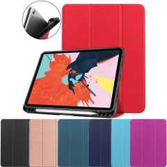 iPad Air 10.9in (2020) Case, PU Leather Cover, 3-Fold Stand, Sleep/Wake Function, Pen Slot | iCoverLover Australia