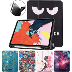 iPad Air 10.9in (2020) Case, Drawing PU Leather Cover with 3-Fold Stand, Sleep/Wake Function, Pen Slot | iCoverLover Australia
