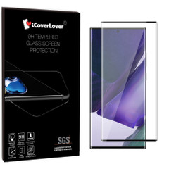 Samsung Galaxy Note 20 Ultra/Note 20 Black Screen Protector Full 3D Edge to Edge Tempered Glass