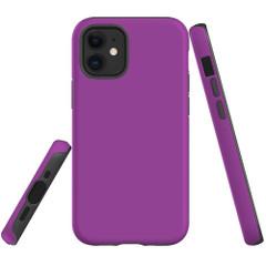For Apple iPhone 13 Pro Max/13 Pro/13 mini,12 Pro Max/12 Pro/12 mini Case, Tough Protective Back Cover, Purple | iCoverLover Australia