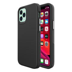 iPhone 12 Pro Max/12 Pro/12 mini Case, Shockproof Protective Cover Black