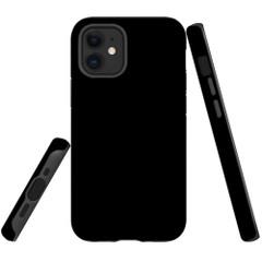 For Apple iPhone 13 Pro Max/13 Pro/13 mini,12 Pro Max/12 Pro/12 mini Case, Tough Protective Back Cover, Black   iCoverLover Australia