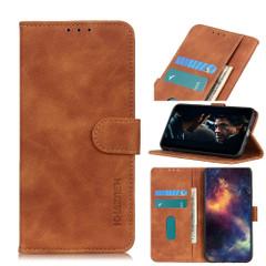 For iPhone 12 Pro Max Case, Retro Texture PU + TPU Folio PU Leather Wallet Cover | iCoverLover Australia