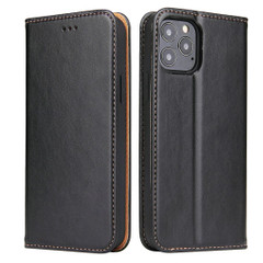 iPhone 12 Pro Max/12 Pro/12 mini Case, Leather Flip Wallet Folio Cover with Stand, Black | iCoverLover Australia