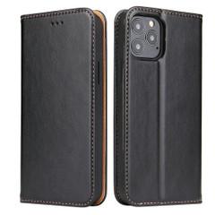 iPhone 12 Pro Max/12 Pro/12 mini Case, Leather Flip Wallet Folio Cover with Stand, Black | iCoverLover Australia