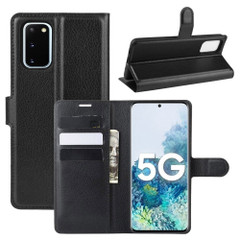 For Samsung Galaxy S20 FE 4G / 5g Case Lychee Folio Protective PU Leather Wallet Cover | iCoverLover Australia