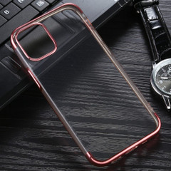 For iPhone 12 Pro Max,12 Pro/12, 12 mini Case Electroplated TPU Protective Soft Cover, Rose Gold  | iCoverLover Australia