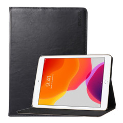 iPad 10.2in (2019) Case Smart Flip Folio Wallet Cover Black