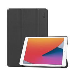 iPad 10.2in (2019) Case Smart Flip Cover Black