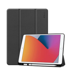 iPad 10.2in (2021,2020,2019) Smart Cover with Pen Slot BlackiPad Cases | iCoverLover.com.au