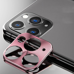 Rear Camera iPhone 11 Pro Max / 11 Pro Metal Lens Protection Cover Rose Gold