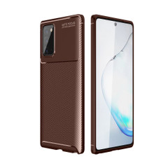 For Samsung Galaxy S21 Ultra/S21+ Plus/S21 Case, Carbon Fiber Texture Protective TPU Cover, Brown | iCoverLover.com.au | Phone Cases