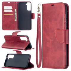 For Samsung Galaxy S21 Ultra/S21+ Plus Case, Folio PU Leather Wallet Cover, Stand & Lanyard, Red | iCoverLover.com.au | Phone Cases
