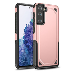 For Samsung Galaxy S21 Ultra/S21+ Plus/S21 Case, Shockproof Armour Protective Cover, Rose Gold | iCoverLover.com.au | Phone Cases
