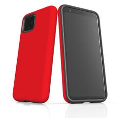Google Pixel 5/4a 5G,4a,4 XL,4/3XL,3 Case, Tough Protective Back Cover, Red | iCoverLover Australia