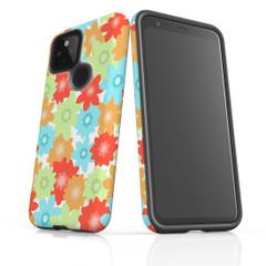 Google Pixel 5/4a 5G,4a,4 XL,4/3XL,3 Case, Tough Protective Back Cover, Flowers | iCoverLover Australia