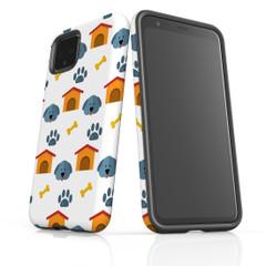 Google Pixel 5/4a 5G,4a,4 XL,4/3XL,3 Case, Tough Protective Back Cover, Dogs | iCoverLover Australia