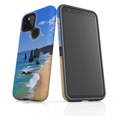 Google Pixel 5/4a 5G,4a,4 XL,4/3XL,3 Case, Tough Protective Back Cover, Famous Rocks | iCoverLover Australia