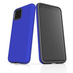 Google Pixel 5/4a 5G,4a,4 XL,4/3XL,3 Case, Tough Protective Back Cover, Blue   iCoverLover Australia
