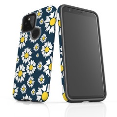 Google Pixel 5/4a 5G,4a,4 XL,4/3XL,3 Case, Tough Protective Back Cover, Cheerful Flowers | iCoverLover Australia