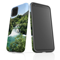 Google Pixel 5/4a 5G,4a,4 XL,4/3XL,3 Case, Tough Protective Back Cover, Beautiful Waterfalls | iCoverLover Australia