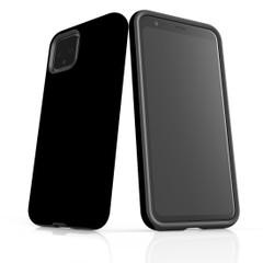 Google Pixel 5/4a 5G,4a,4 XL,4/3XL,3 Case, Tough Protective Back Cover, Black   iCoverLover Australia