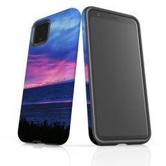 Google Pixel 5/4a 5G,4a,4 XL,4/3XL,3 Case, Tough Protective Back Cover, Amazing Sunset | iCoverLover Australia
