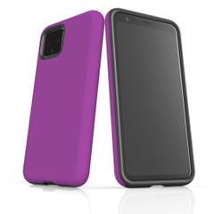 Google Pixel 5/4a 5G,4a,4 XL,4/3XL,3 Case, Tough Protective Back Cover, Purple | iCoverLover Australia