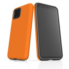 Google Pixel 5/4a 5G,4a,4 XL,4/3XL,3 Case, Tough Protective Back Cover, Orange | iCoverLover Australia